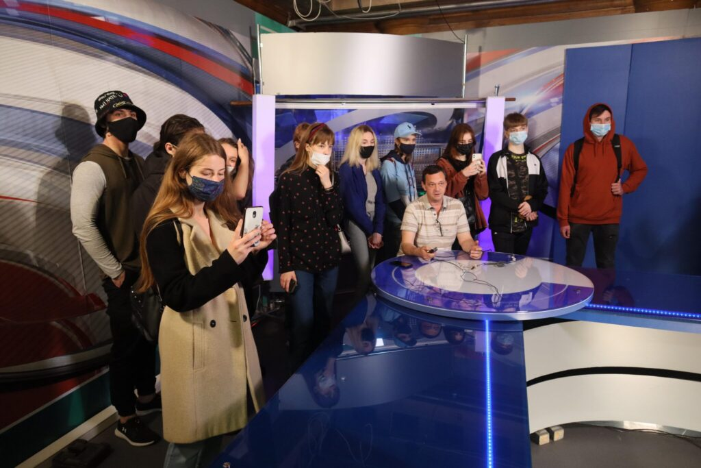 Excursion to the regional TV channel UA Kharkiv